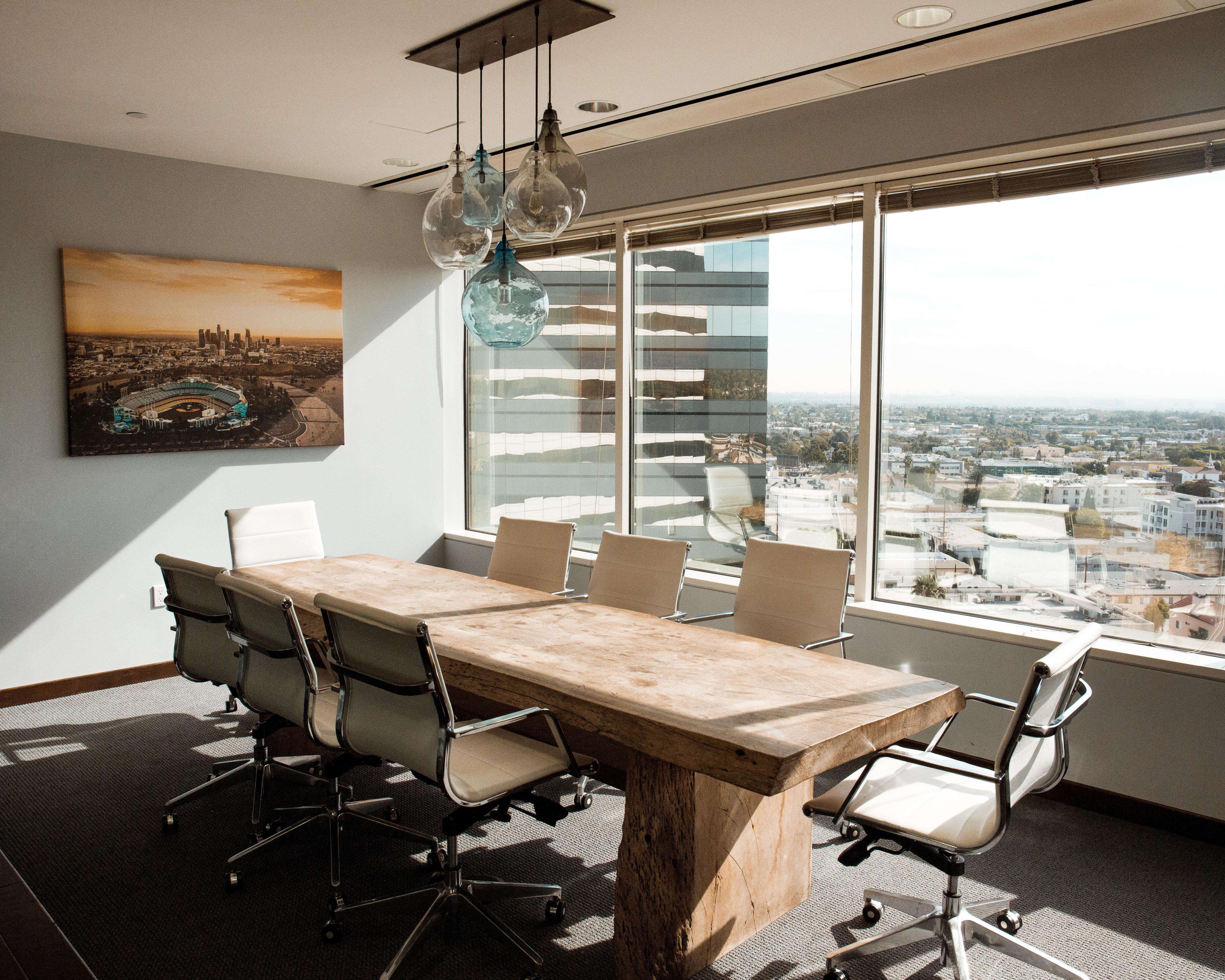 Büro im Hochhaus